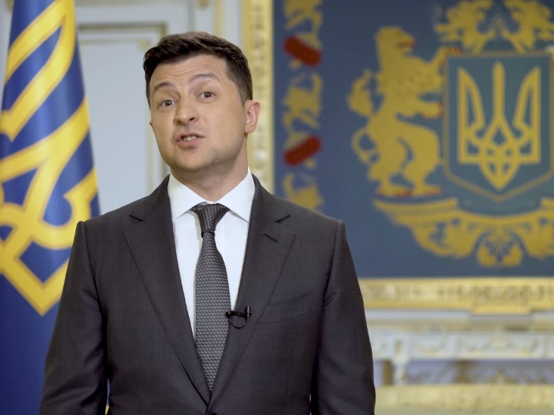 Владимир Зеленский // Скриншот с видео на YouTube
