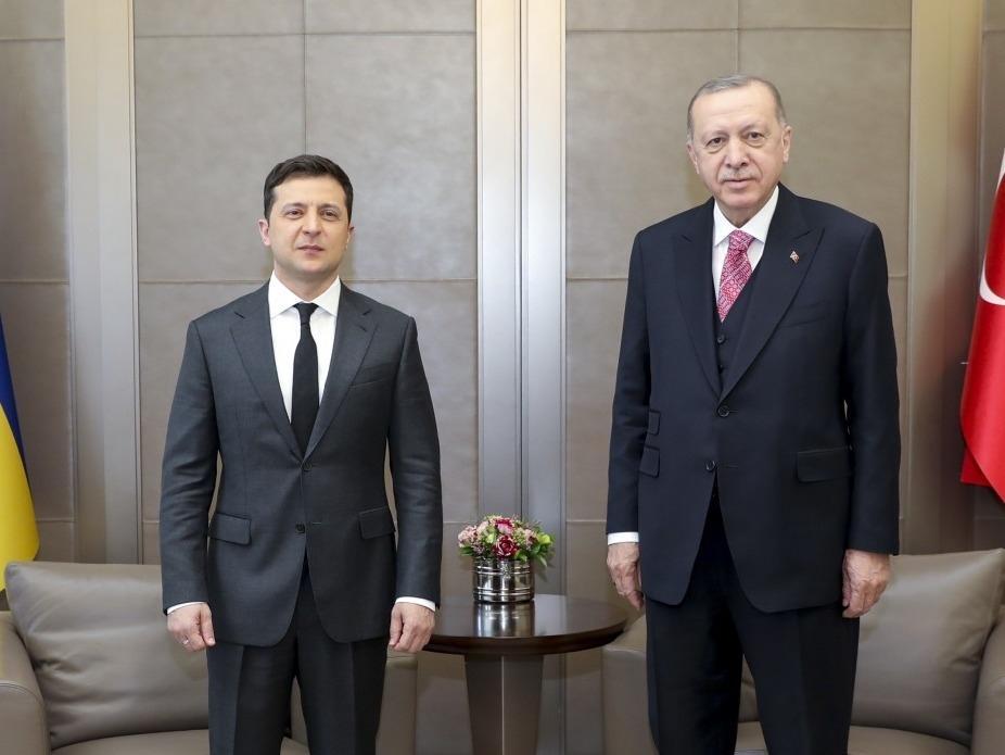 Владимир Зеленский и Рэджеп Эрдоган // Фото: офис президента Украины