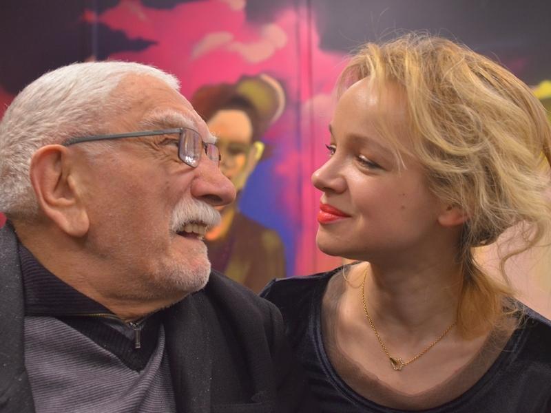 Армен Джигарханян и Виталина Цымбалюк-Романовская // Фото: Павел Кашаев / Global Look Press