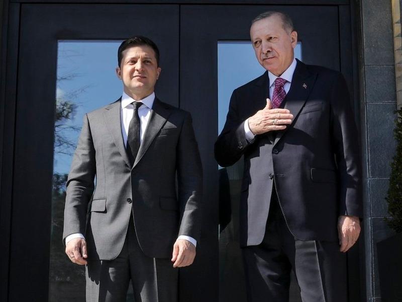Владимир Зеленский и Рэджеп Эрдоган // Фото: Global Look Press