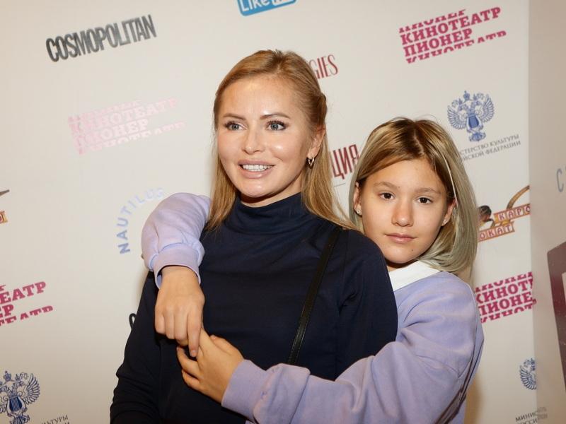 Дана Борисова с дочкой Полиной // Фото: Анатолий Ломохов / Global Look Press