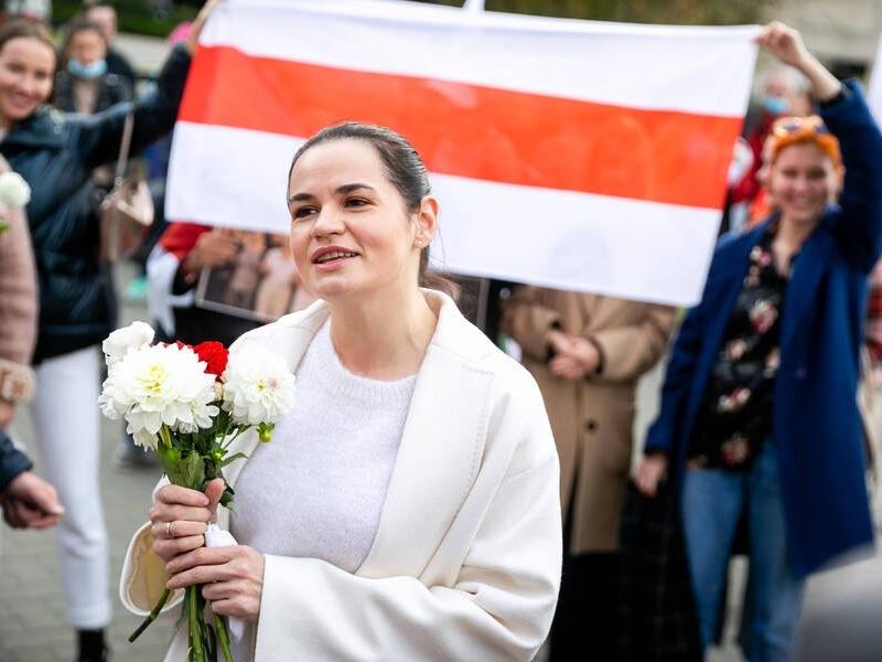 Светлана Тихановская // Фото: Global Look Press