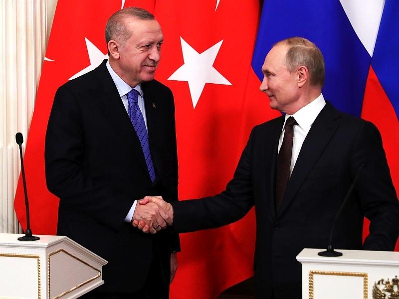 Эрдоган и Путин // фото: Global Look Press