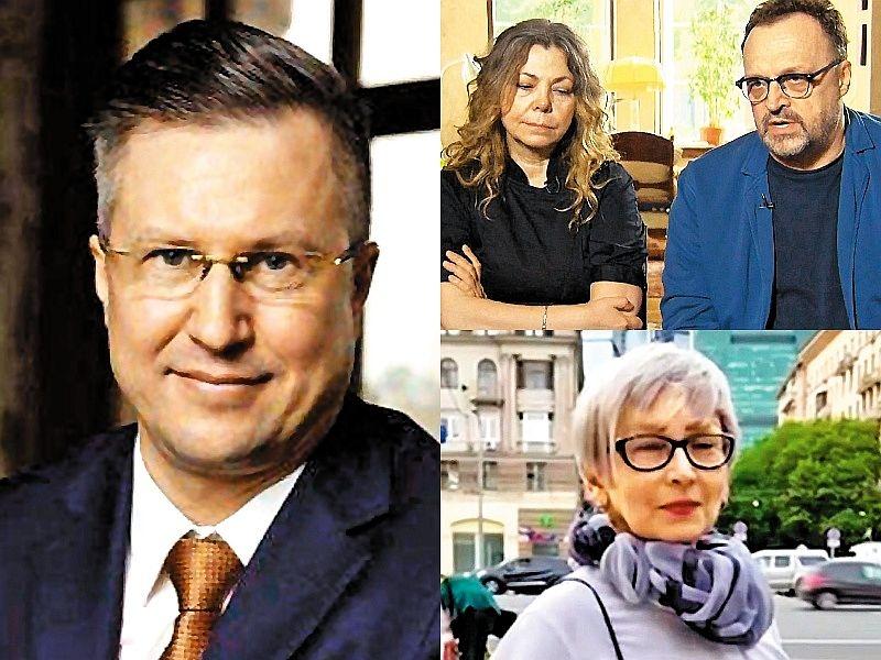 Адвокат Игорь Симонов (слева), Виктор Гусев с женой (сверху) и Елена Толкачева ( снизу) // фото: соцсети