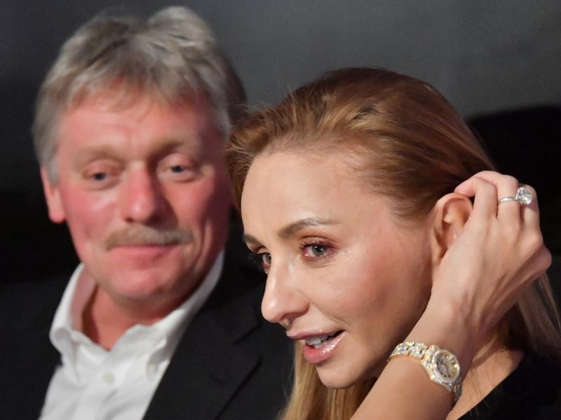 Татьяна Навка с мужем Дмитрием Песковым // Фото: Global Look Press