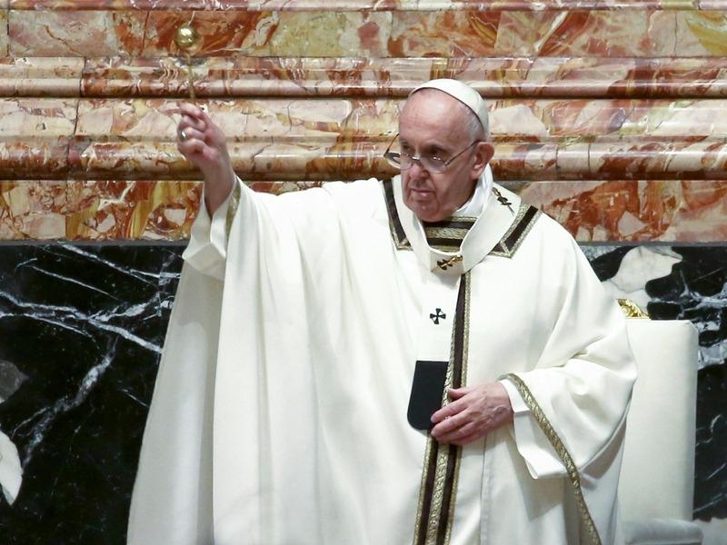 Папа Римский Франциск // Фото: Global Look Press