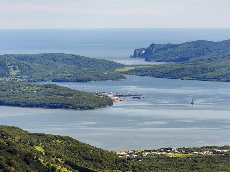 Тихий океан, Камчатка, Вилючинская бухта // Global Look Press