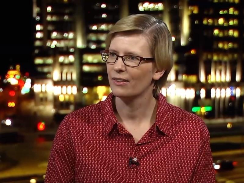 Марина Литвинович // Скриншот с видео на YouTube