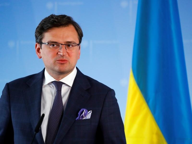Глава МИД Украины Дмитрий Кулеба // Фото: Global Look Press