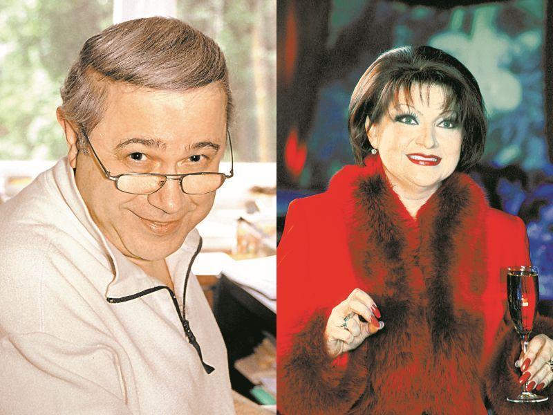 Слева: Евгений Петросян // фото: Татьяна Кузьмина; справа: Елена Степаненко // фото: Максим Бурлак