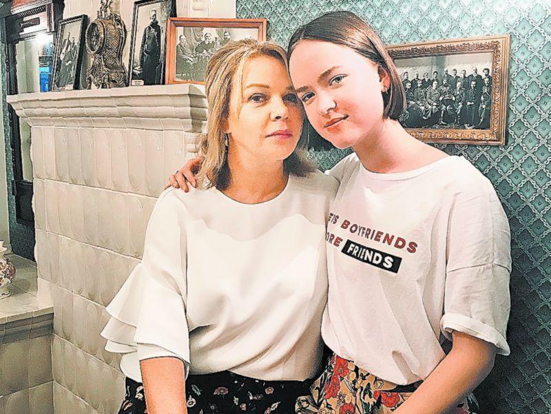 Елена Валюшкина с дочерью Марией // фото из Instagram