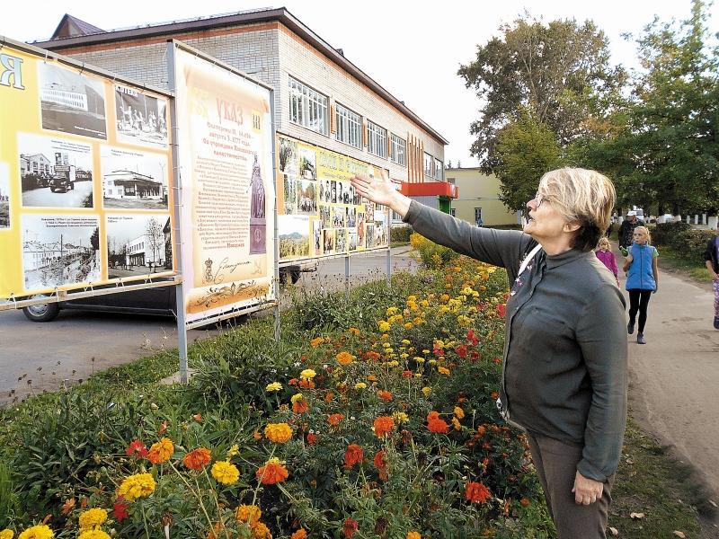 Директор музея в Новоржеве рассказывает о богатом прошлом города // фото автора