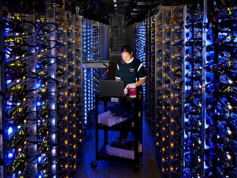 Дата-центр Google // фото: Connie Zhou / ZUMAPRESS.com / Global Look Press