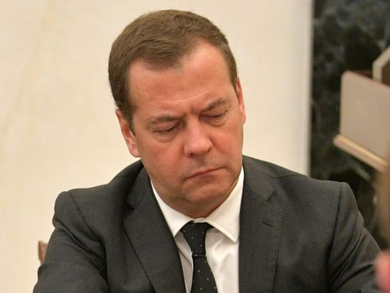 Дмитрий Медведев на совещании у Владимира Путина по экономическим вопросам 7 июня // фото: Kremlin Pool / Global Look Press