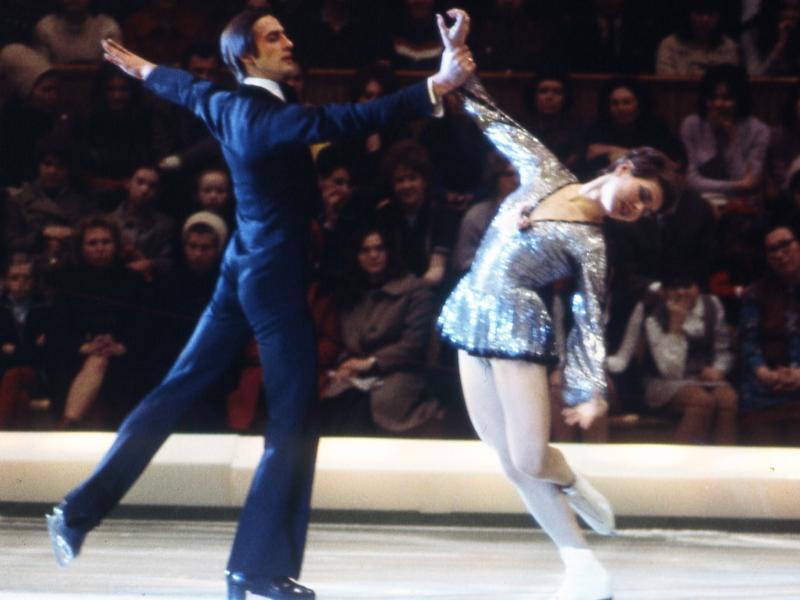 Александр Горшков и Людмила Пахомова на льду // фото: Global Look Press