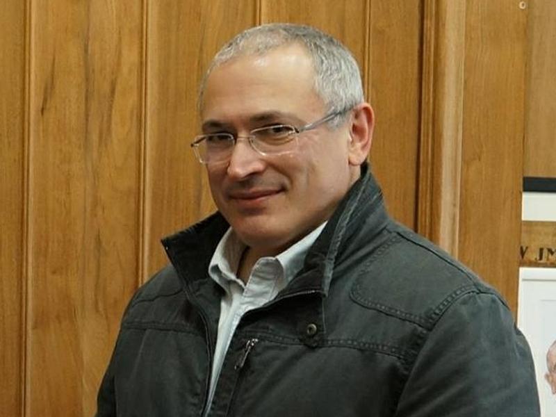 Михаил Ходорковский в мае 2017 года // фото: Olga Litvinenko / facebook.com / Global Look Press