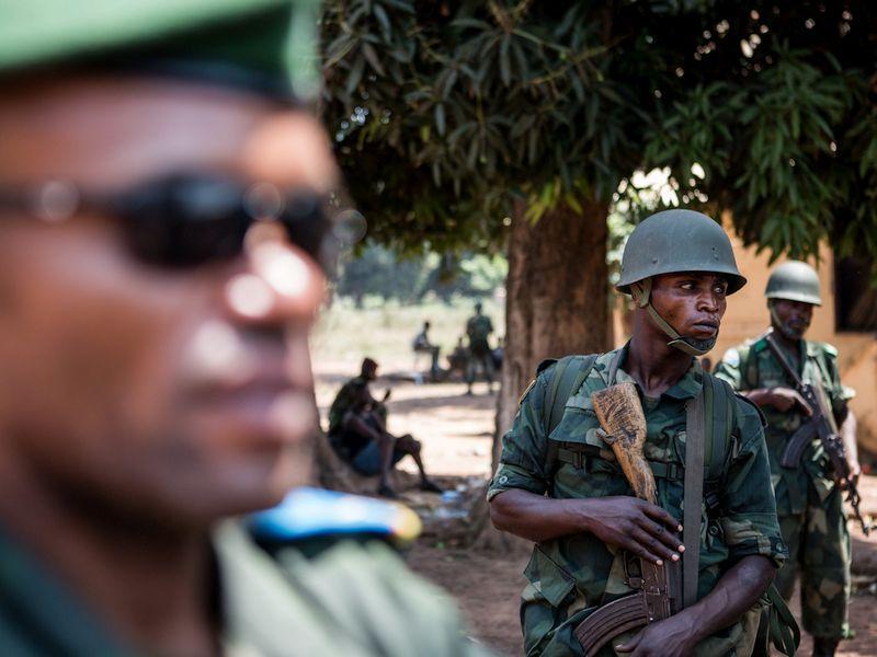 Военные в ЦАР // Фото: Global Look Press