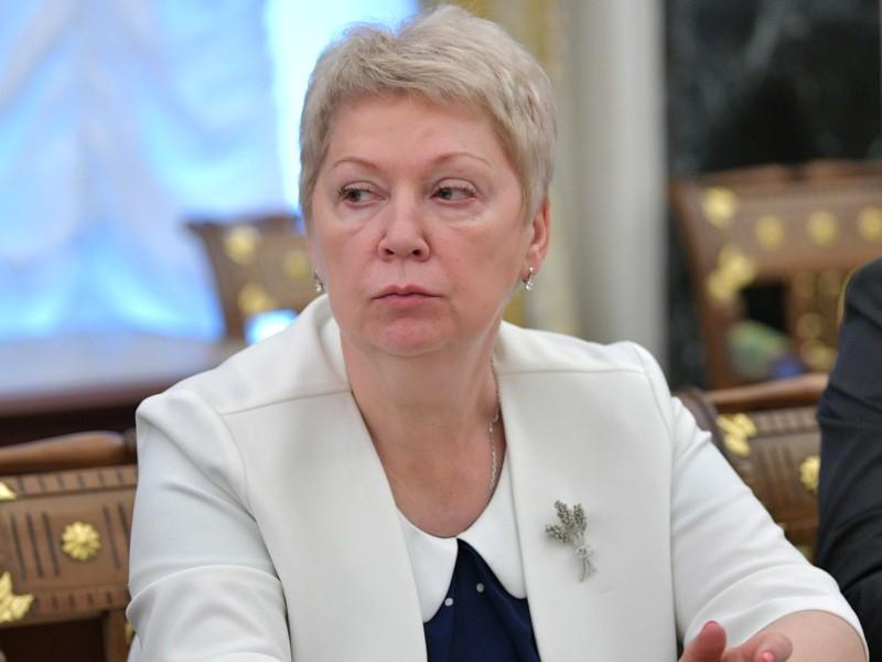 Министр просвещения Ольга Васильева // фото: Kremlin Pool / Global Look Press