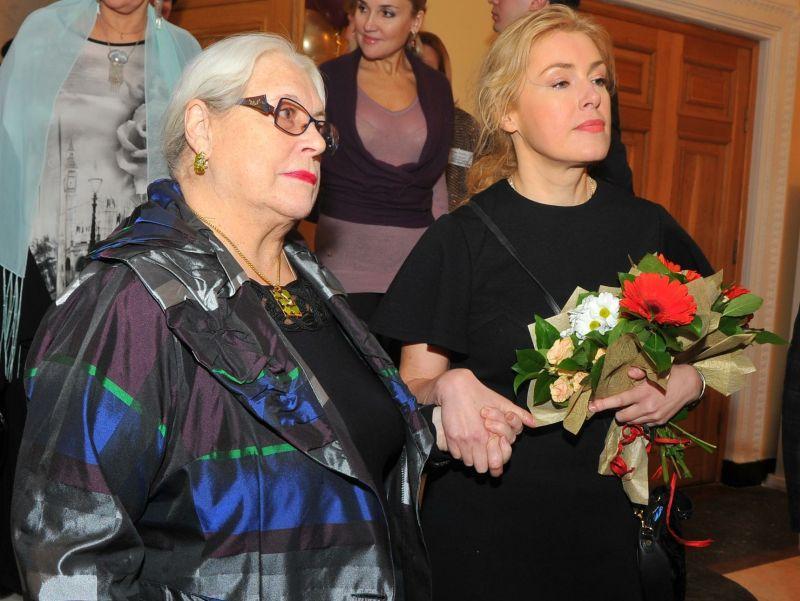 Лидия Федосеева-Шукшина и ее дочь Мария Шукшина // фото: Global Look Press