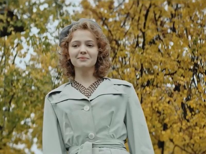 Юлия Хлынина в фильме «Лев Яшин. Вратарь моей мечты» // стоп-кадр из трейлера