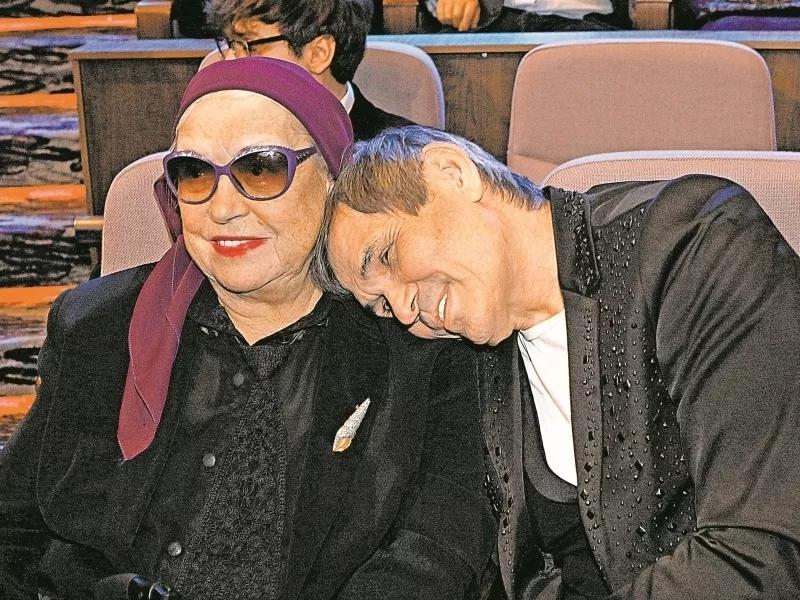 Лидия Федосеева-Шукшина и Бари Алибасов // фото: Андрей Струнин