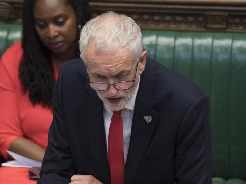 Джереми Корбин в Палате общин // фото: UK Parliament / Jessica Taylor / Global Look Press