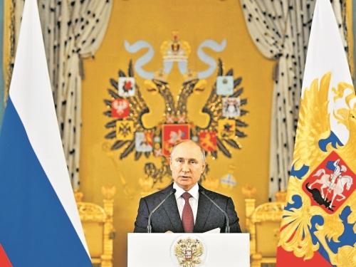 У Владимира Путина теперь другая фамилия. По крайней мере, в Росреестре // фото: Global Look Press