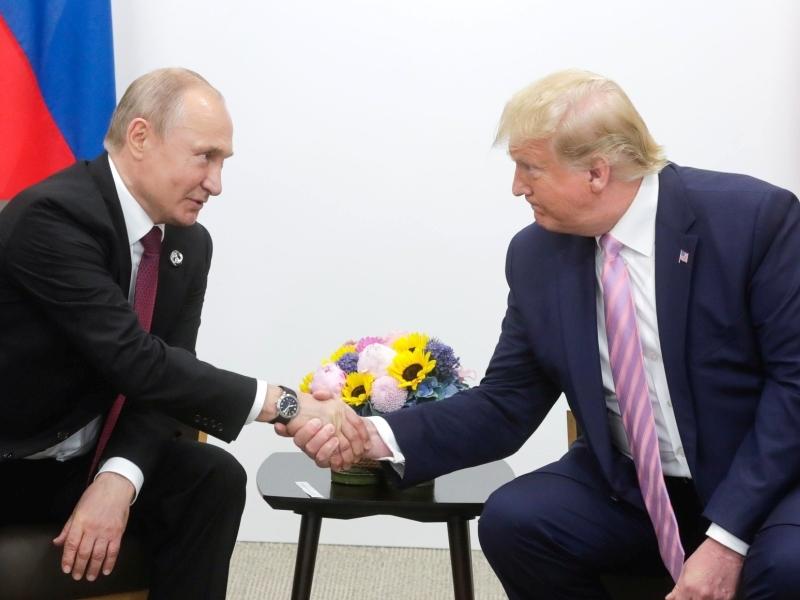 Владимир Путин и Дональд Трамп // фото: Global Look Press