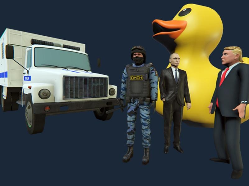// фото: Steam / OMON Simulator / Ukrainian Bears / UN
