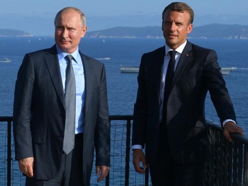 Путин и Макрон // фото: Global Look Press