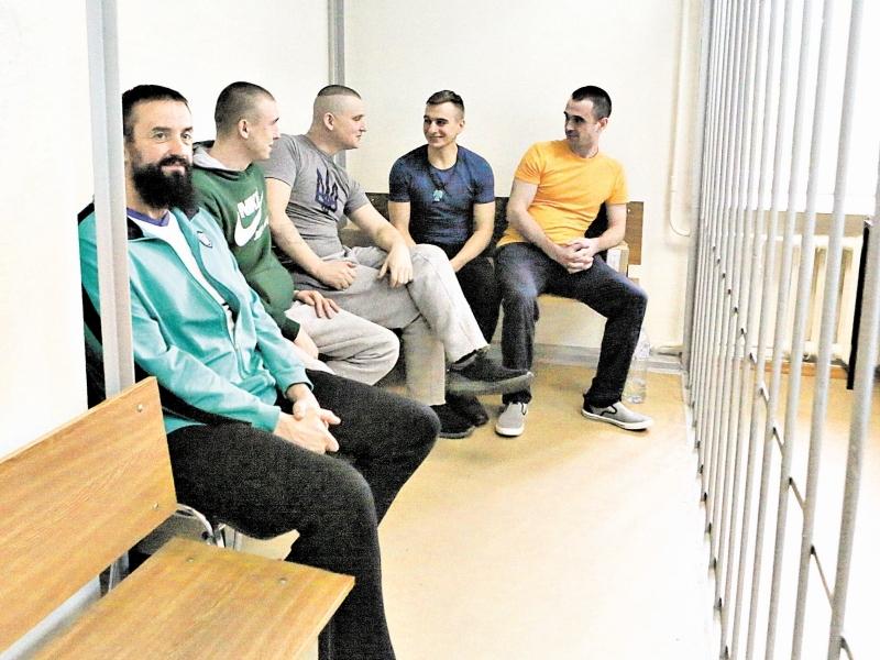 Украинские моряки, без сомнений, уедут домой // фото в статье: агентство «Москва»