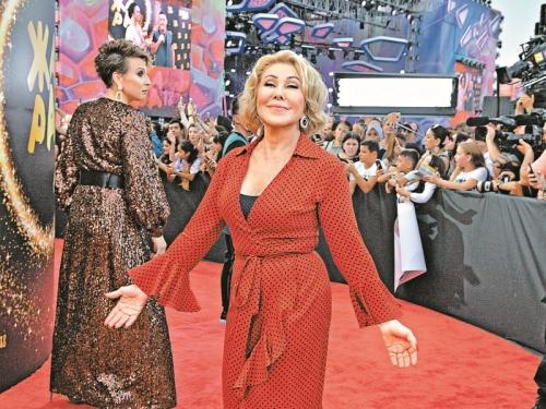 Любовь Успенская // фото в статье: Global Look Press