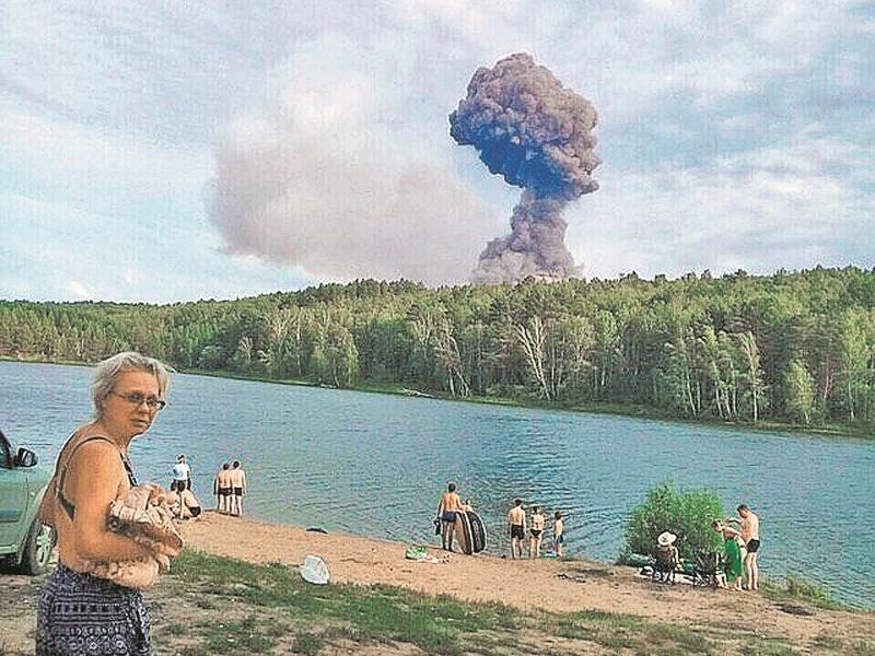 Между первой и второй сериями ачинских взрывов Минобороны заявляло, что опасности нет // фото: соцсети