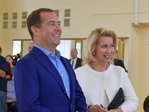 Дмитрий и Светлана Медведевы // Фото: Global Look Press