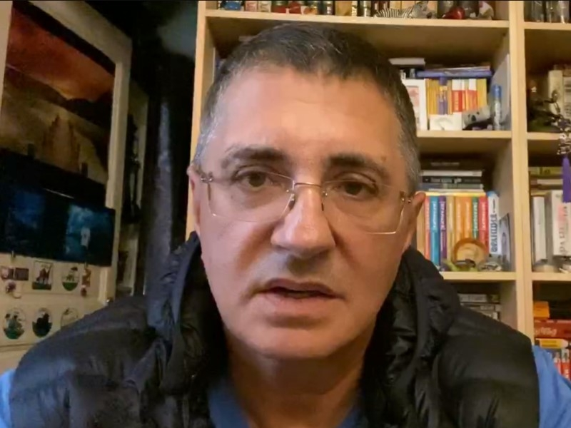Александр Мясников // Скриншот с видео в Telegram