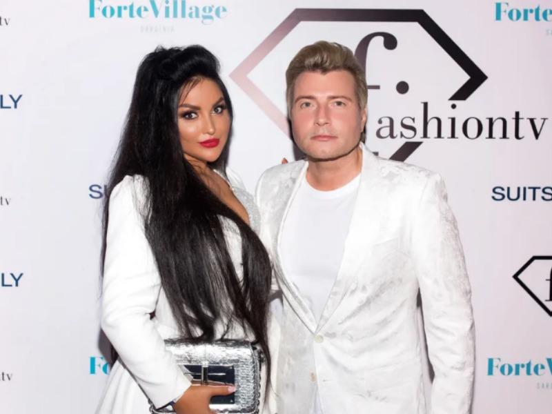 Николай Басков и Аника Керимова // фото в статье: организаторы премии Fashion Summer Awards