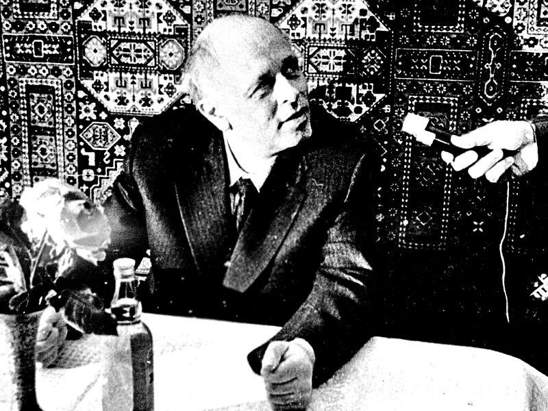 Всего Сахаров провел здесь 19 пресс-конференций // фото в статье: архив Андрея Сахарова