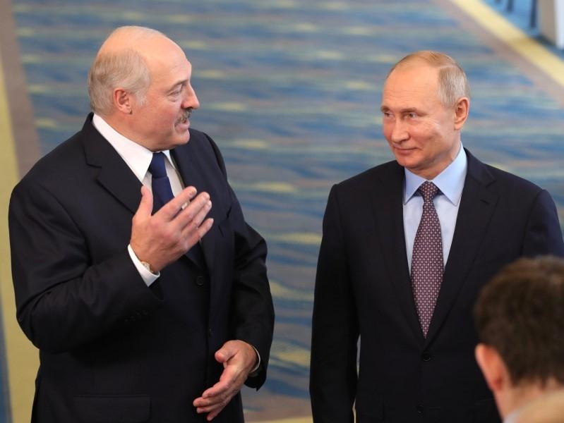 Александр Лукашенко и Владимир Путин// Фото: Global Look Press