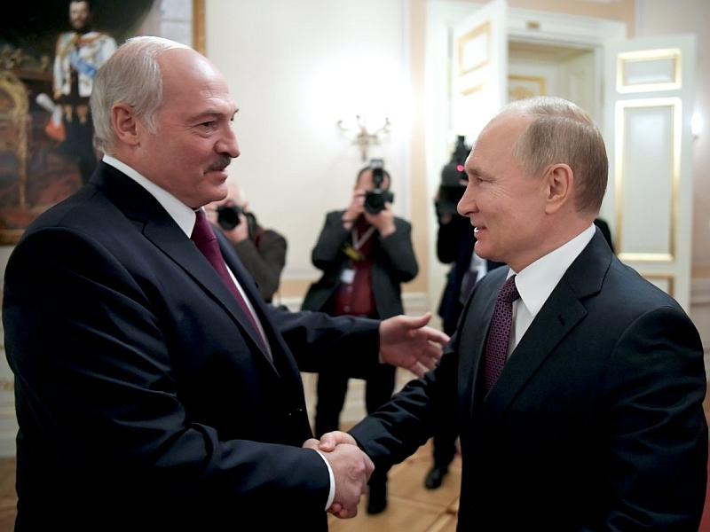 Лукашенко и Путин // фото: Global Look Press