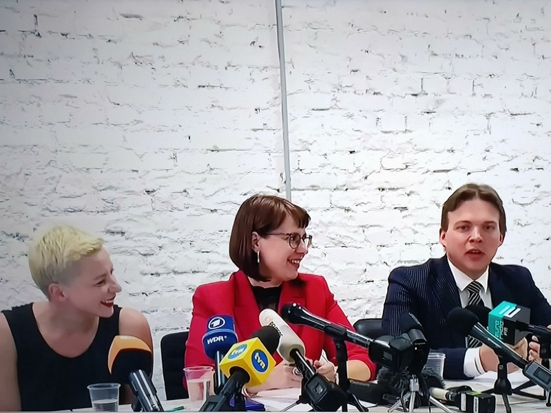 Пресс-конференция Координационного совета // Фото: Global Look Press