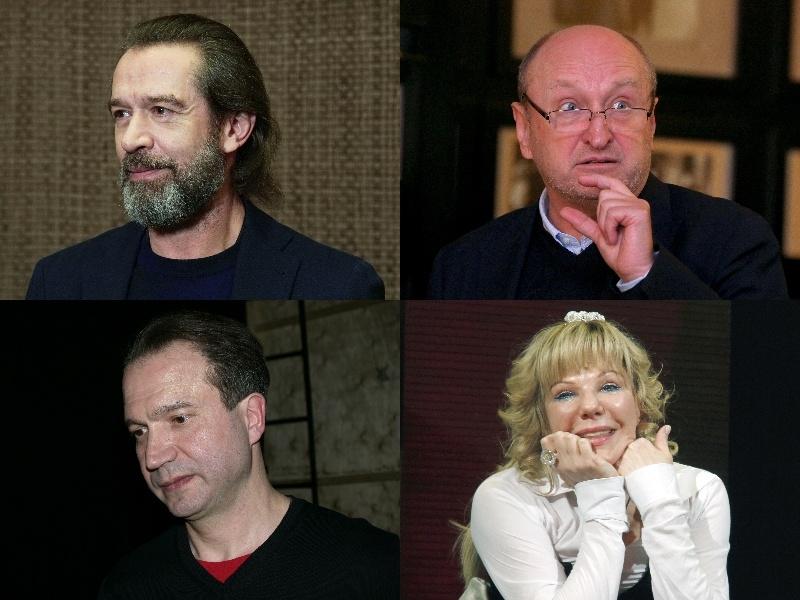 Владимир Машков, Сергей Женовач, Виктор Рыжаков и Александра Захарова // Фото: Global Look Press