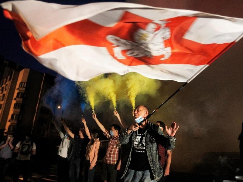 Акция солидарности в Киеве // Фото: Global Look Press