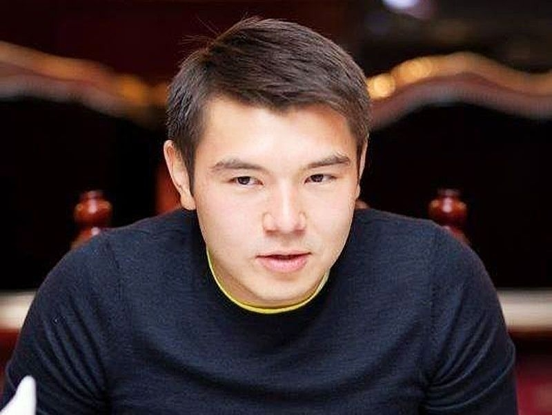 Айсултан Назарбаев // Фото: facebook.com / Aisultan Rakhat