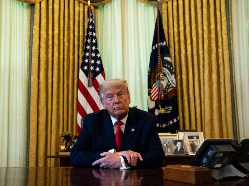 Дональд Трамп // Фото: Global Look Press