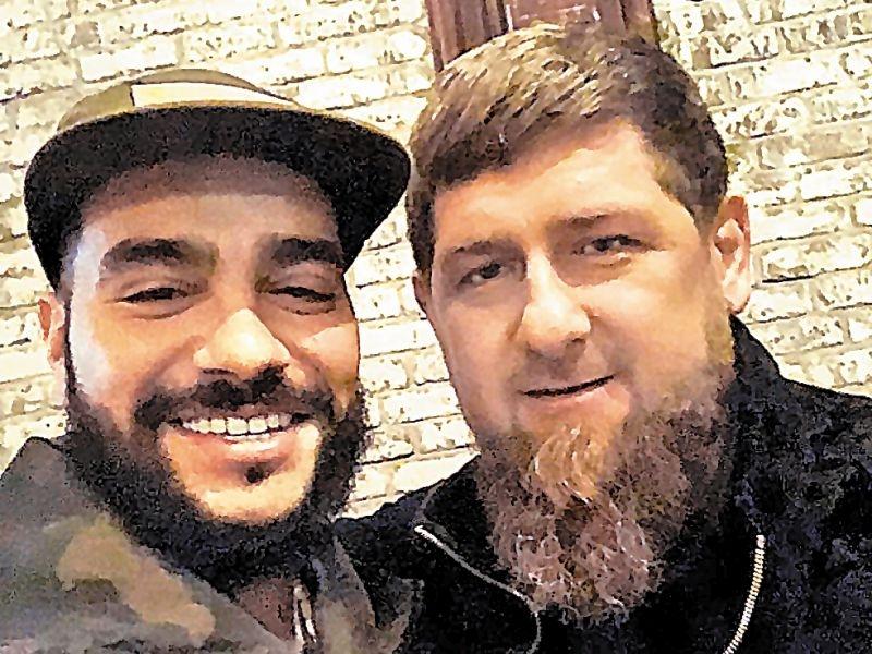 Тимати и Рамзан Кадыров // фото в статье: соцсети