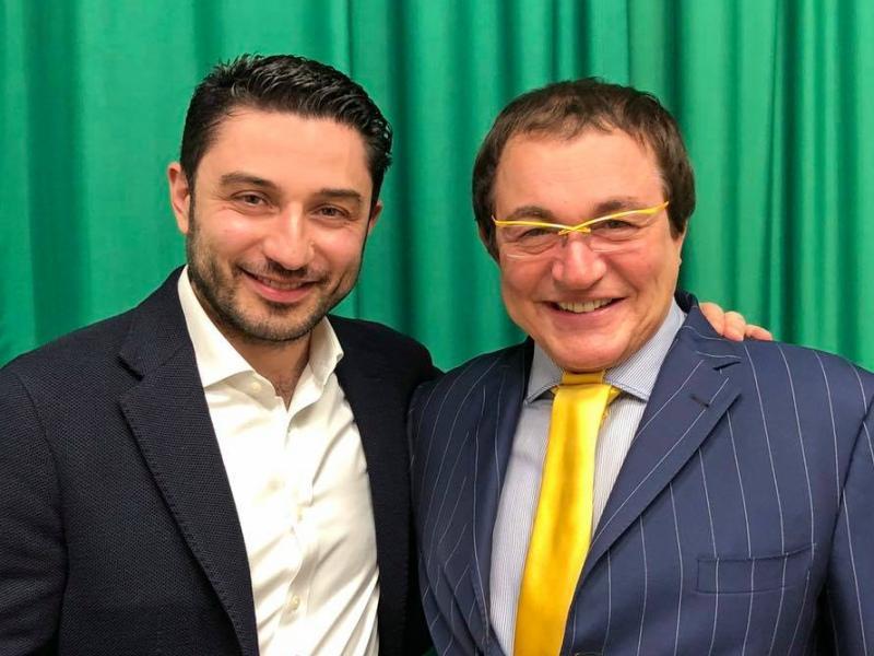 Табриз Шахиди с Дмитрием Дибровым