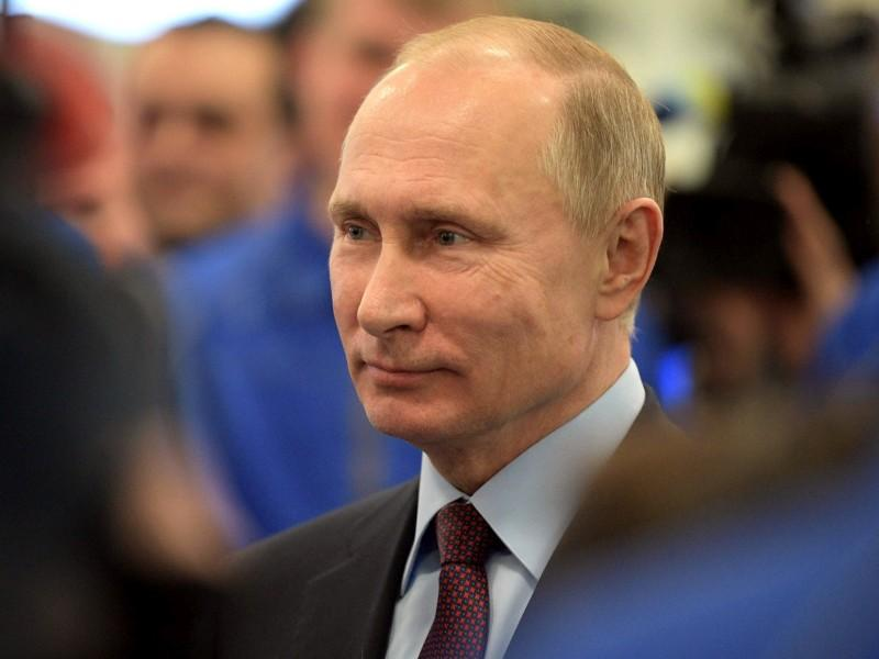Владимир Путин во время визита в Ямало-Ненецкий автономный округ // фото: Global Look Press