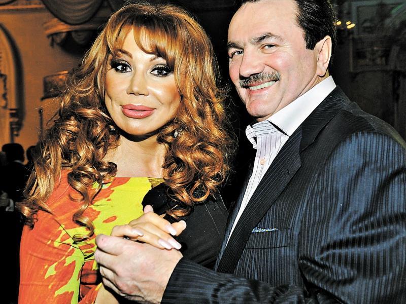 Маша Распутина с мужем // Фото: Global Look Press