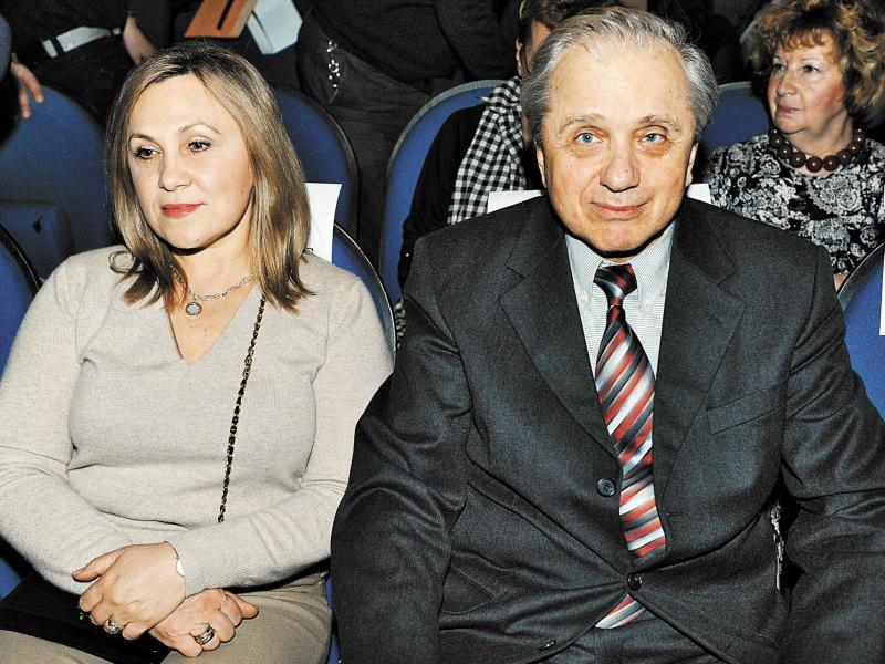 Артист со второй супругой Любовью Глебовой