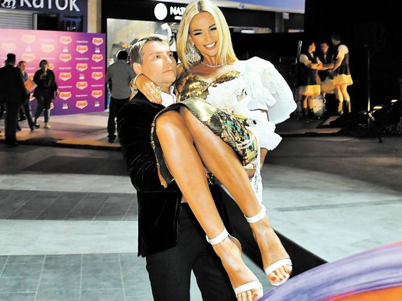 Николай Басков с Викторией Лопыревой // Фото: Global Look Press